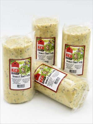 Red Barn Suet log for wild birds, insect flavour, 575g