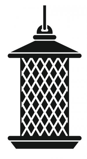 Icon of a mesh peanut feeder for wild birds