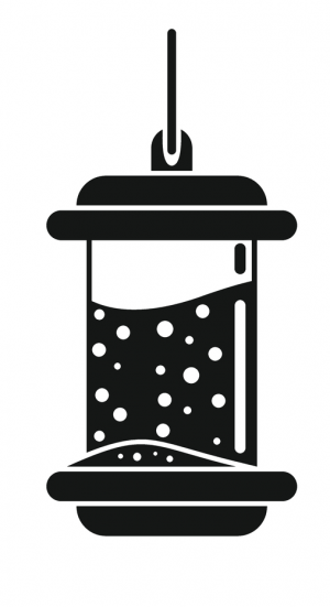 Icon of a seed feeder for wild birds