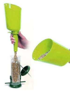 Flo Seed Scoop. Fill feeders easily with this handy scoop
