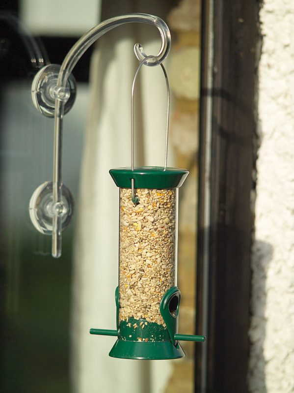 high strength window hook with feeder