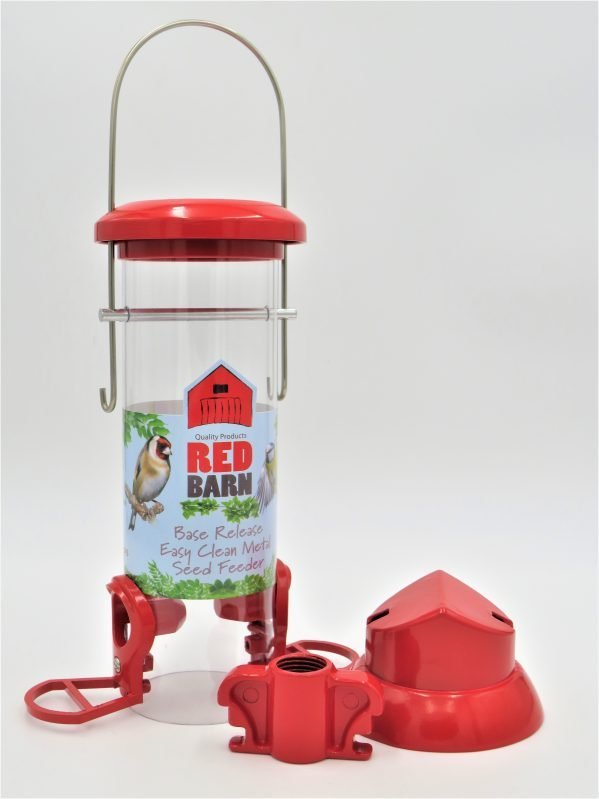 red barn base release bird feederwith base removed easily