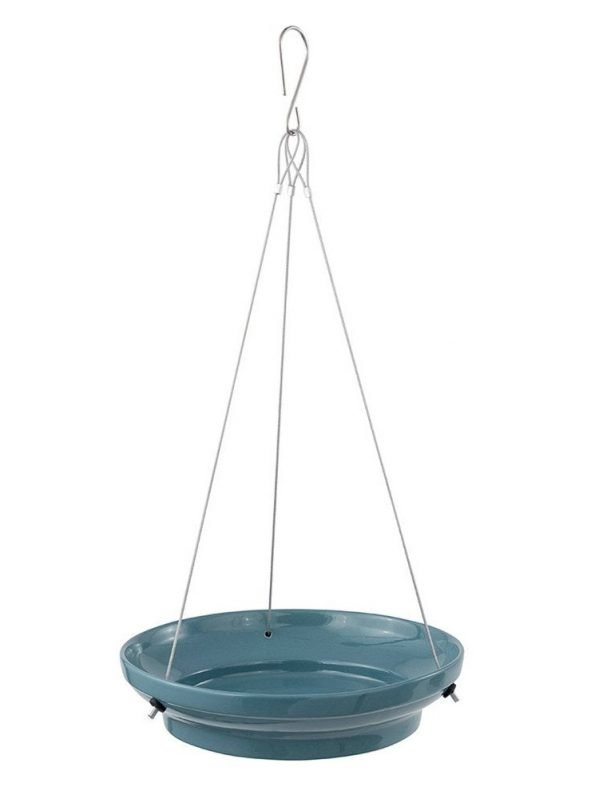 CJ wildlife Vesi Blue wild bird water dish
